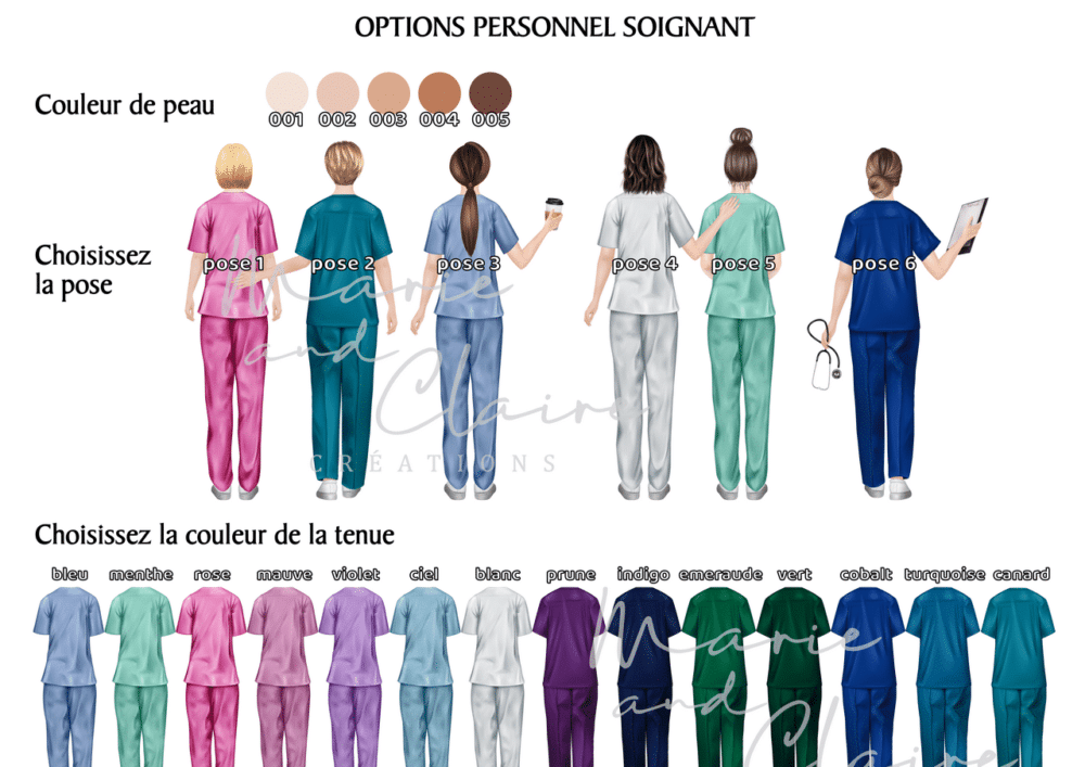 Options personnel soignant