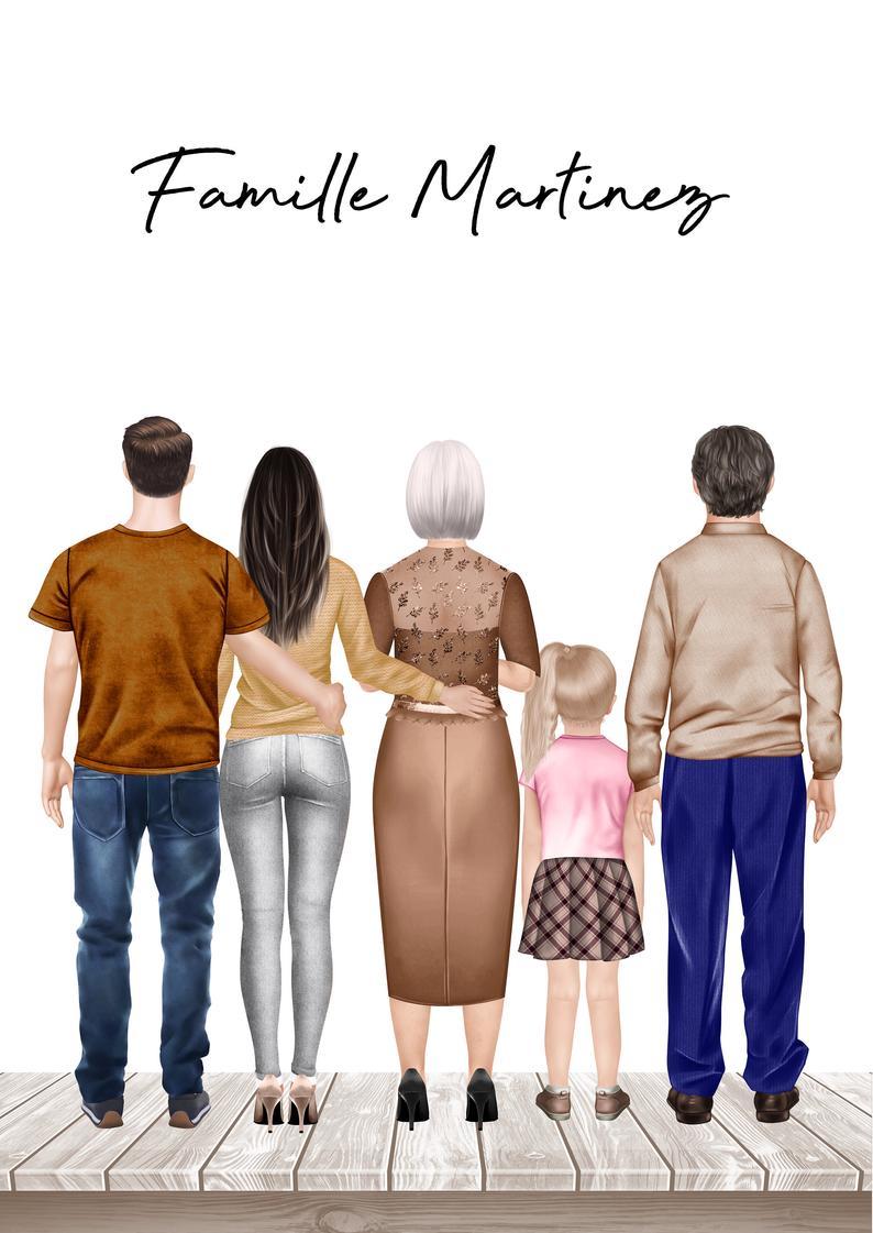 portrait-de-famille-personnalise