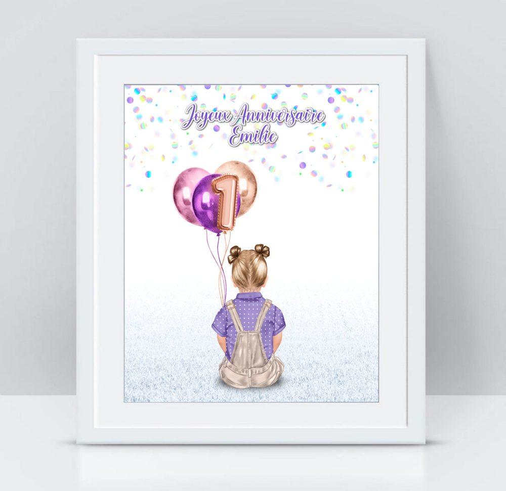 cadeau anniversaire 1 an fille